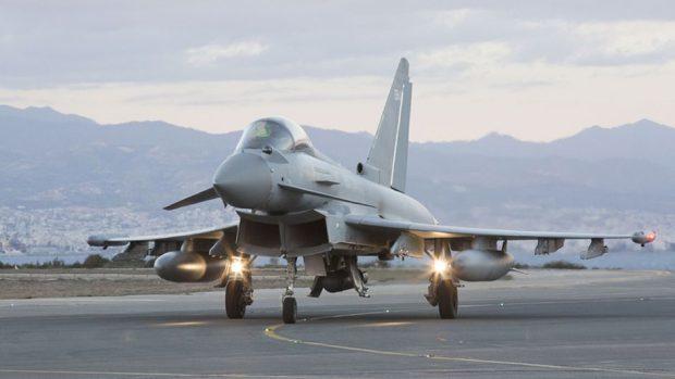RAF scrambles jets to intercept Russian planes