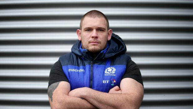 Scotland forward Gordon Reid is keen to take the fight to Wales on Saturday