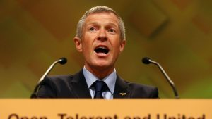 Willie Rennie has given his backing to proposed campus development plans unveiled by the University of St Andrews