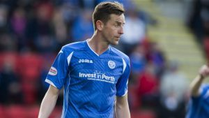 St Johnstone's Steven MacLean was on target in the win at Ross County.