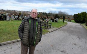 Ronald Strachan at Hazlehead cemetery