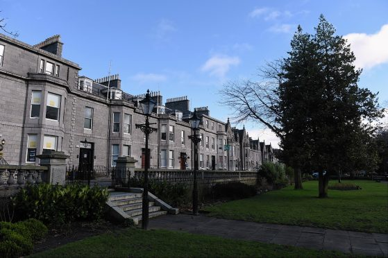 Rubislaw Terrace is one of the streets that will contribute most