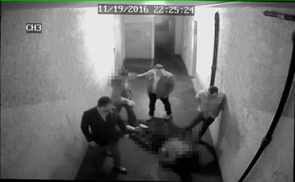 Anyone who recognises the attackers is urged to phone the police on 101