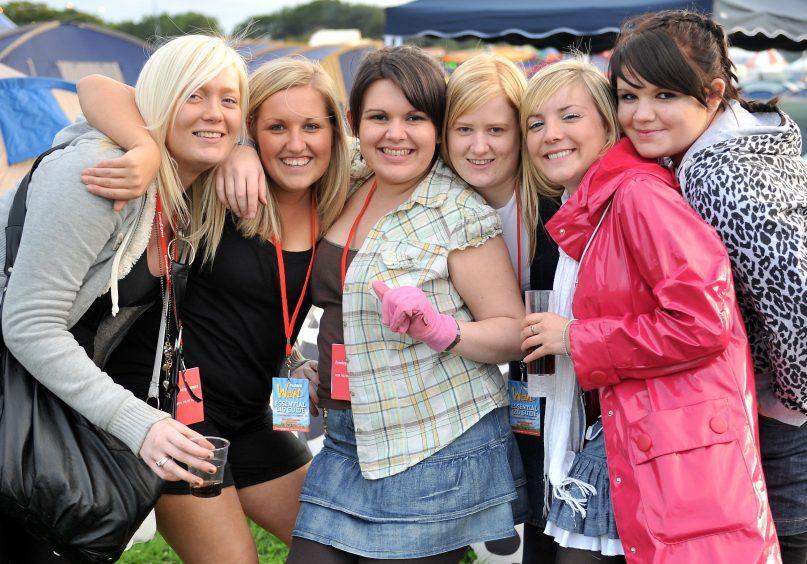 In the picture:  Lynne Wallace, Claire Nobel, Natasha Wiseman, Sarah Louise Davidson, Hannah Davidson, Michelle Donaldson