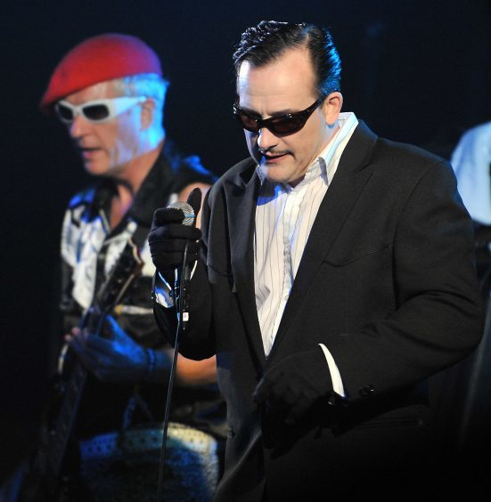 The Damned at The Wizard Festival in 2008