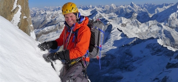 Mick Fowler will giving a presentation at the festival, as well as an expedition workshop