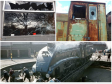 Vandals smashed windows of historic trains