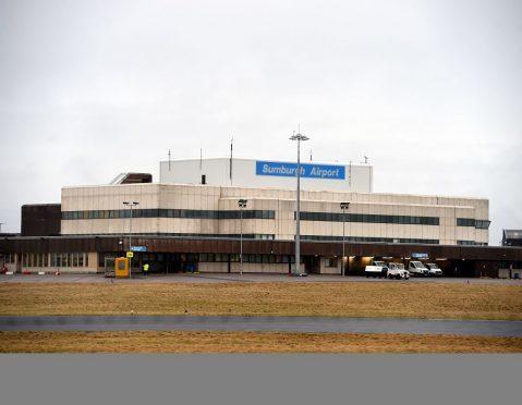 Sumburgh Airport.