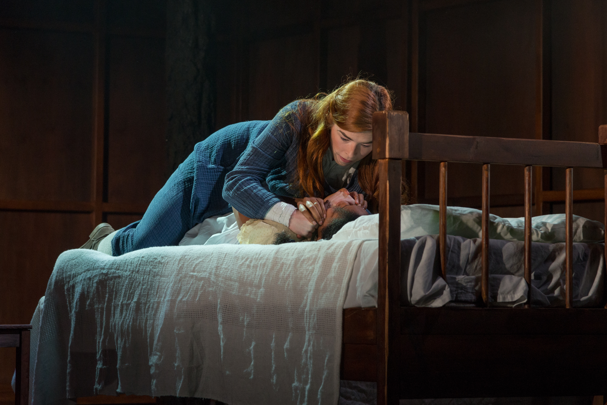 6. Lucy Keirl as Abigail Williams_Leona Allen as Betty Parris -®Alessia Chinazzo
