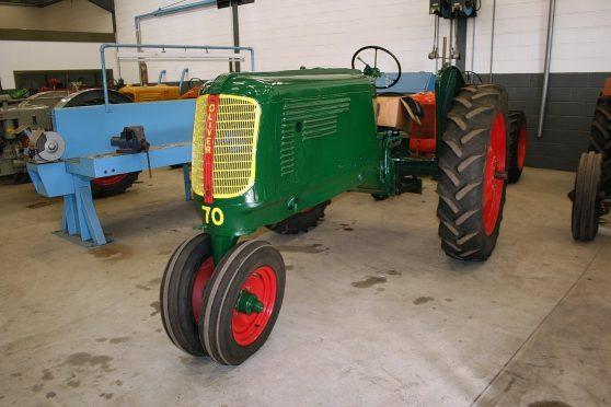 A restored Oliver 70