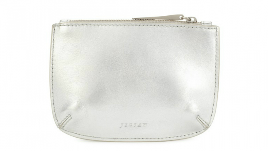Ana small leather pouch, Jigsaw £29.00