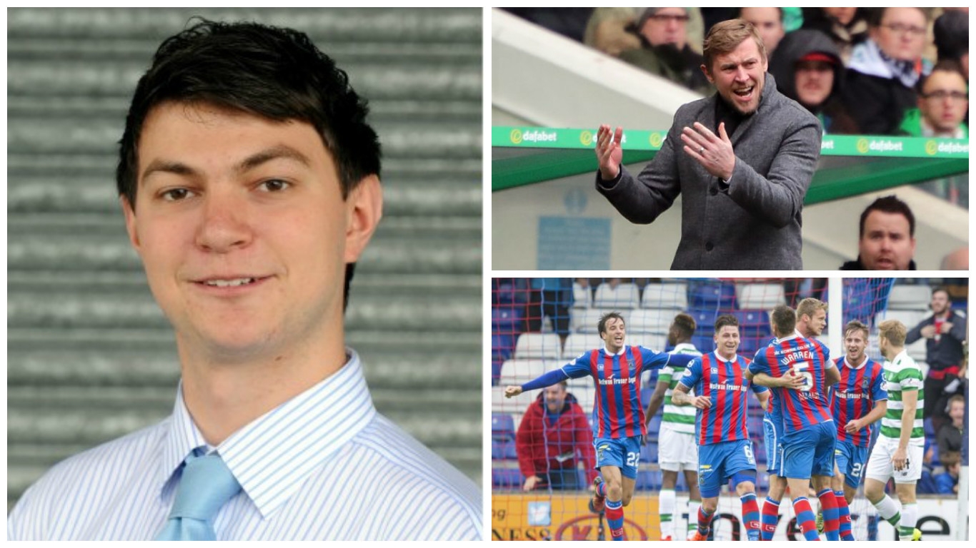 Andy Skinner: Caley Thistle remain only team to have taken points from Celtic – now they must do it again to move off bottom