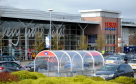 The man collapsed near the Westhill Tesco store