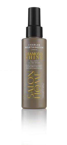 Charles Worthington Diamond Shine All Over Gloss Spray, £6.99, Boots (www.boots.com)