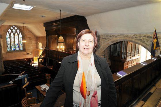 Congregation member, Sheila Sellar