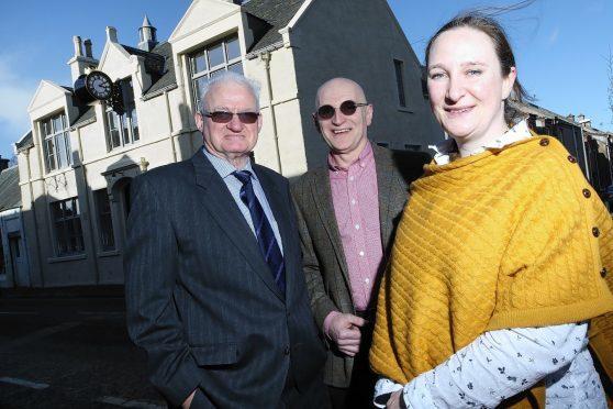 Merkinch Welfare Hall is back in business.