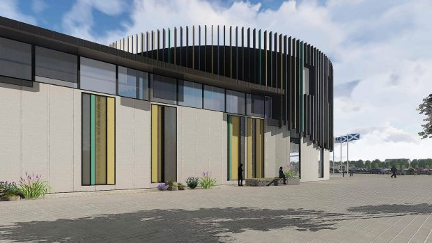 The design for the new Inverness jail.