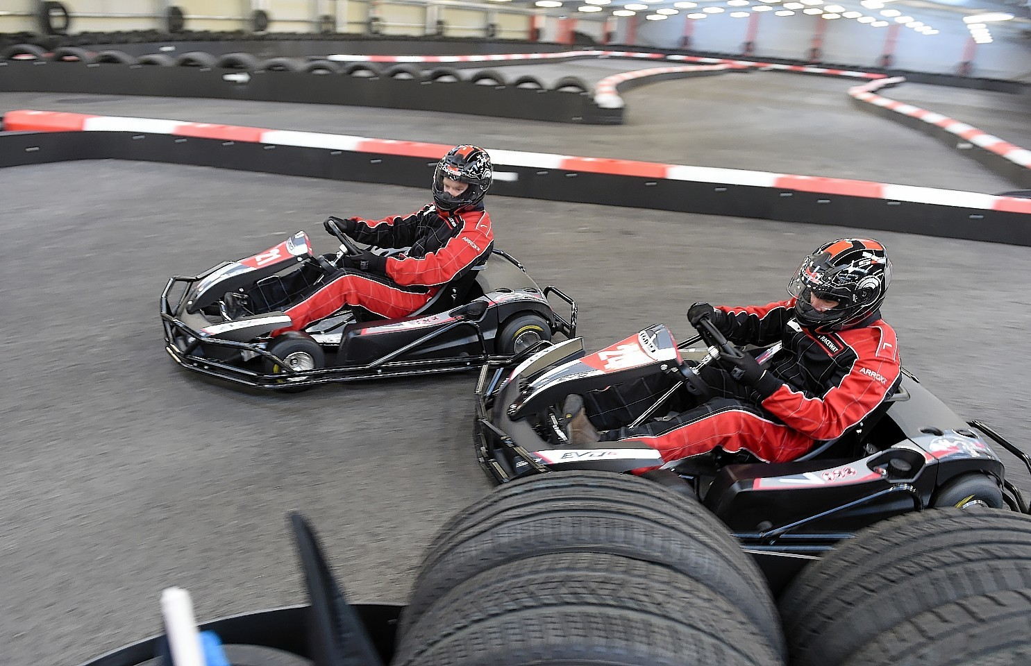 Charity run inverness karting track awarded five star for Five star motors aberdeen