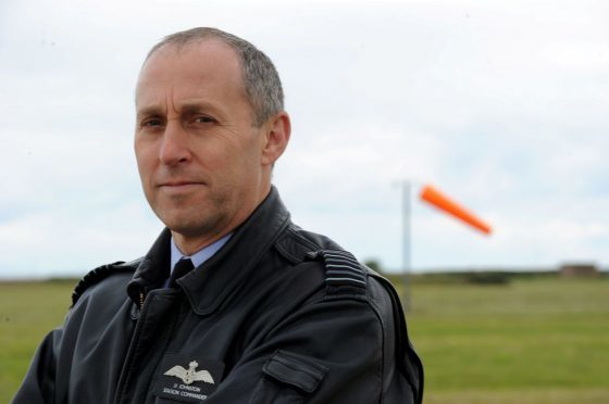 JJ Johnston was the final station commander at RAF Kinloss before it became an Army base.