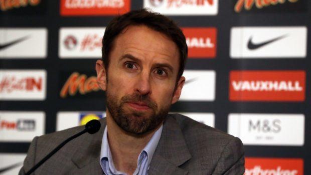 Gareth Southgate made a presentation to the England squad