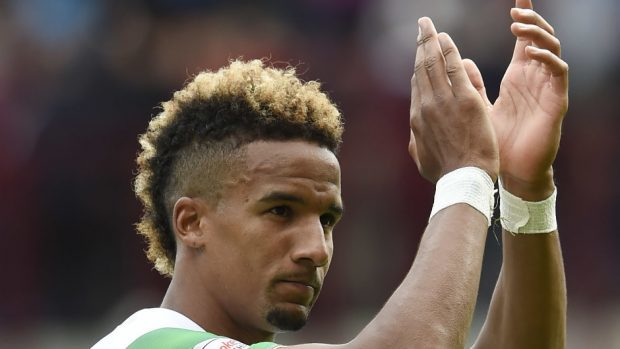 Celtic's Scott Sinclair netted from the penalty spot.
