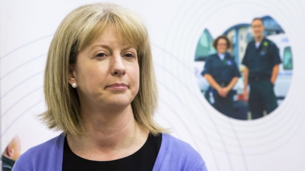 Scottish Health Secretary  Shona Robison.
