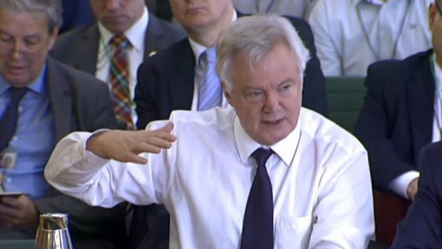 David Davis claims he is 'almost a fifth columnist' for