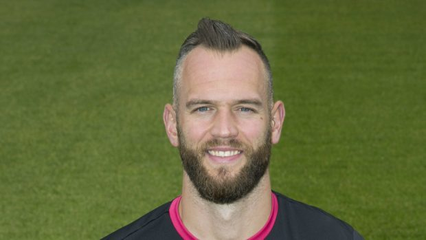 St Johnstone goalkeeper Alan Mannus pulled off a fine late save against Motherwell