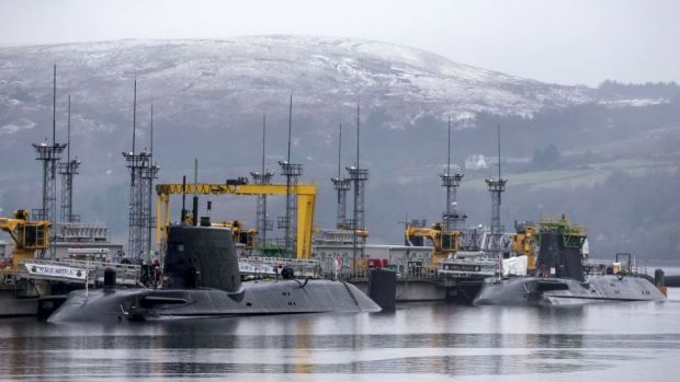 Faslane is home to Britain's Trident nuclear deterrent and will host Royal Navy's submarine fleet from 2020