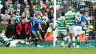 Clint Hill slots in Rangers' late equaliser