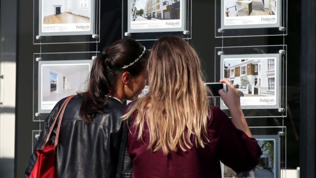 Estate agents in the Midlands are reportedly seeing record sales