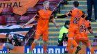 Dundee United's Thomas Mikkelsen celebrates his winner