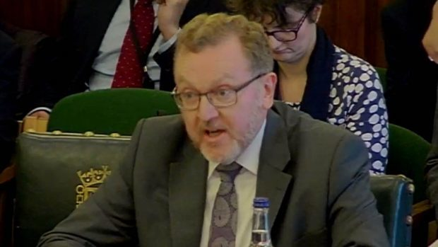 "David Mundell offered an ""absolute guarantee"" Holyrood would be given greater control over Scottish affairs after Brexit"