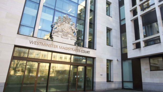 The pair appeared at Westminster Magistrates' Court charged with conspiracy to commit fraud by false representation