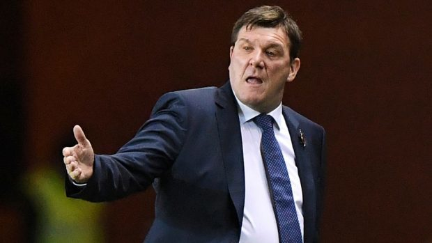 St Johnstone manager Tommy Wright could be a contender if McInnes joins Sunderland.