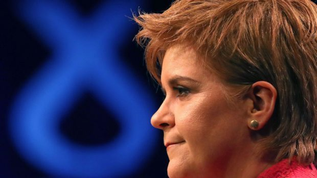 First Minister Nicola Sturgeon said that membership of the single market is the 'minimum' that must be secured for Scotland