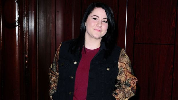 Lucy Spraggan was allegedly assaulted outside a karaoke bar in Brighton in the early hours of Friday