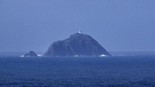 The Blacksod Lighthouse, Co Mayo, where the search is taking place.