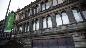 The National Museum of Scotland in Edinburgh was Scotland's most visited tourist attraction
