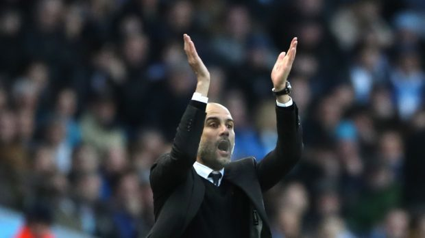 Pep Guardiola was thrilled with Manchester City's 1-1 draw with Liverpool