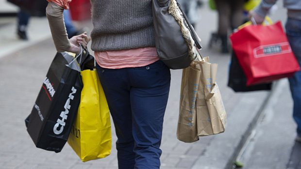 Real consumer spending is expected to eke out its weakest rate since 2013