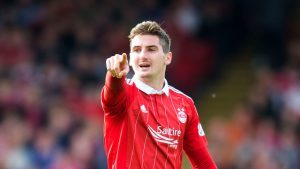 Kenny McLean impressed for Aberdeen on Saturday