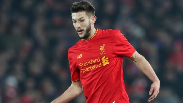 Liverpool's Adam Lallana missed a late chance to beat Manchester City