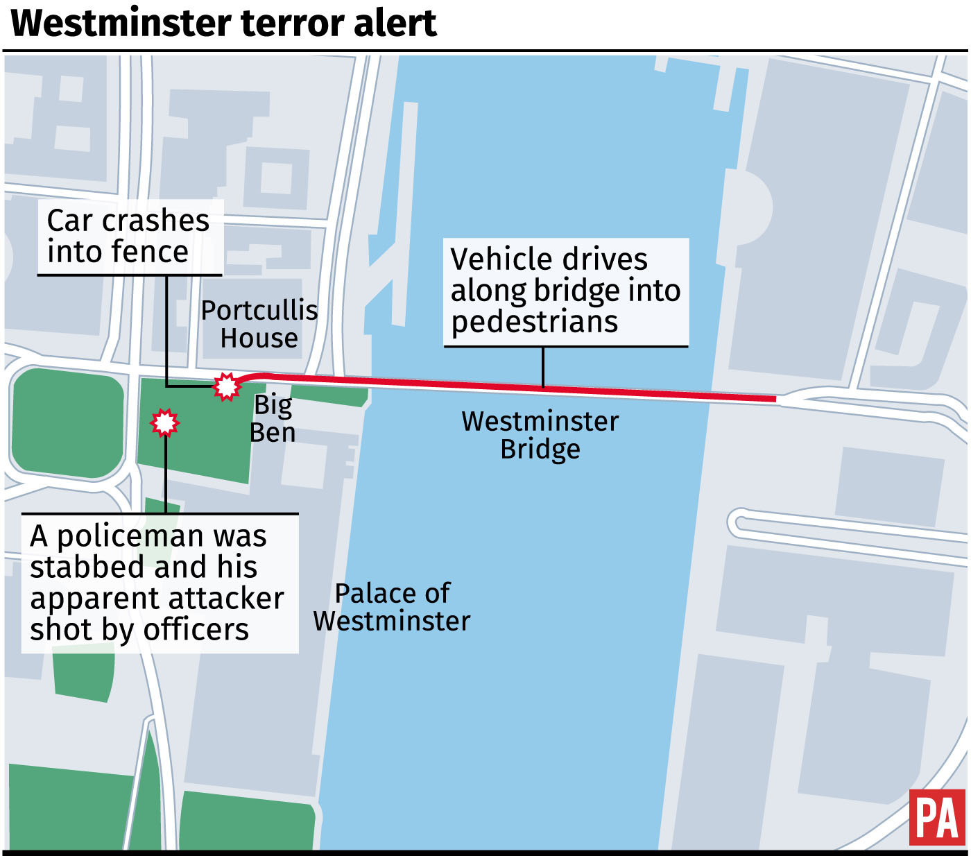 Westminster Shooting: What We Know So Far