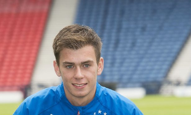 Rangers' Ryan Sinnamon