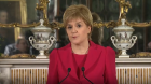 Nicola Sturgeon made the announcement at Bute House