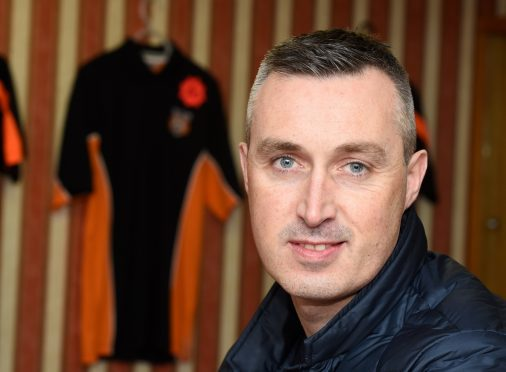 Rothes manager Steven MacDonald