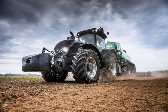 The new Valtra S394 tractor