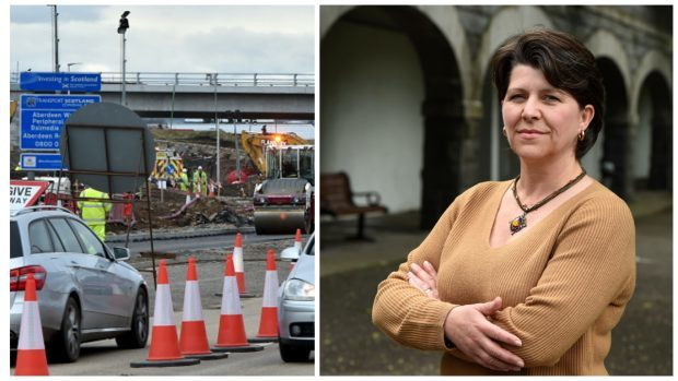 ef1251849e34 Councillor Marie Boulton has highlighted concerns over junctions between  the bypass and the north-east