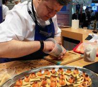 Scottish chef Mark Greenaway at the Boston expo